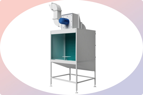 Bench Spraying Booth Industrial Paint Booth Systems