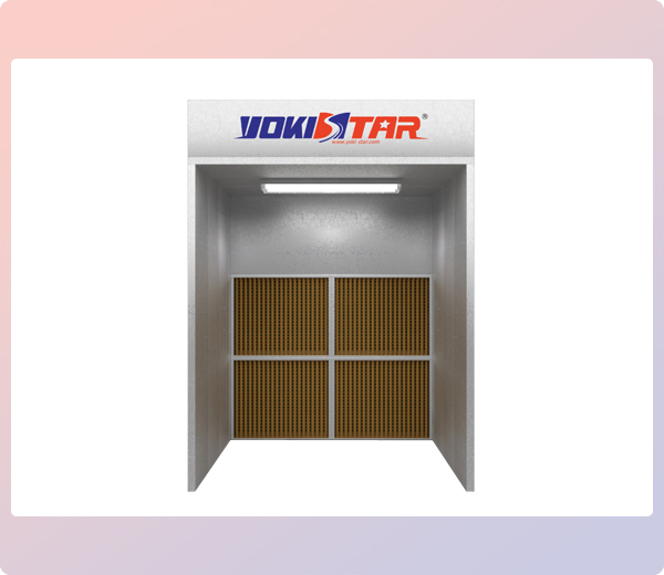 Ys Of2 Open Front Industrial Spray Booth Industrial