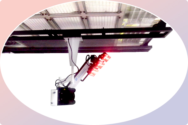 Short Wave Infrared Lamp Curing System Industrial Paint