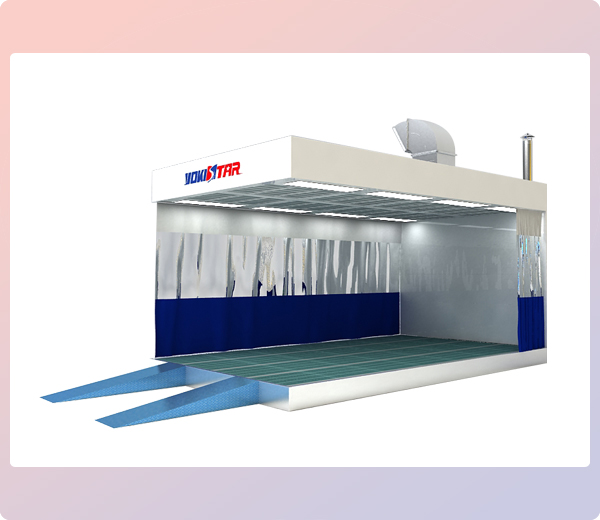 Ys Prh B Prep Station Industrial Paint Booth Systems