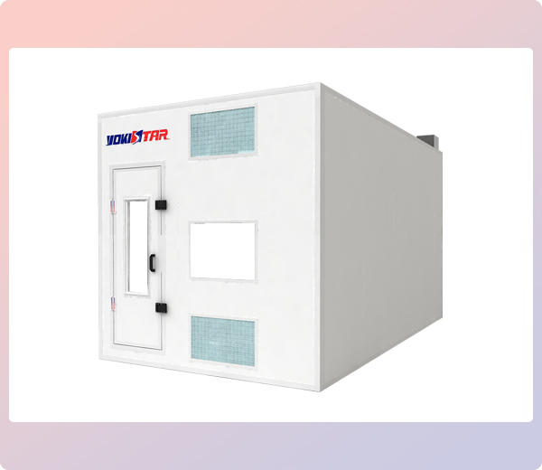 Rooms: Industrial Paint Booth Systems