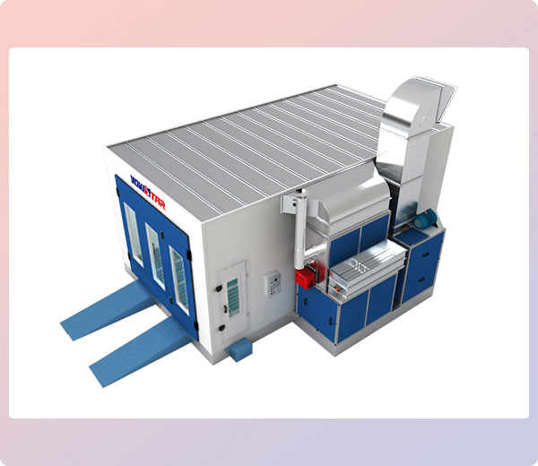 Ojade B Spray Booth Industrial Paint Booth Systems